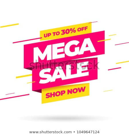 super sale banner template Stock photo © SArts