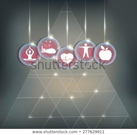 シンボル 健康 心臓血管の ストレス 良い ストックフォト © Tefi