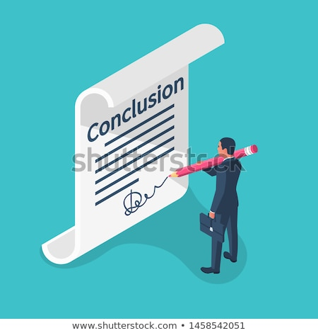business goals analysis   text on clipboard 3d stock photo © tashatuvango