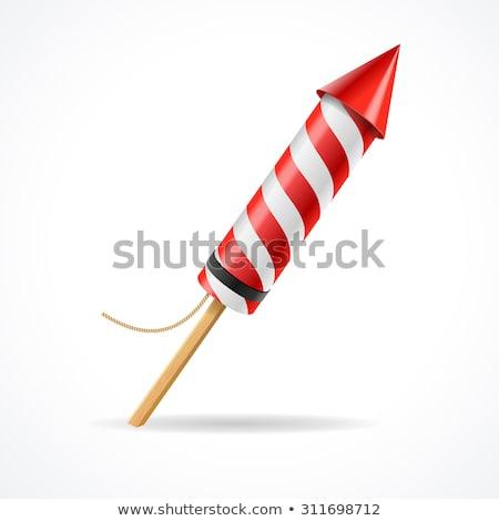 vector · vuurwerk · collectie · ingesteld · display - stockfoto © pikepicture
