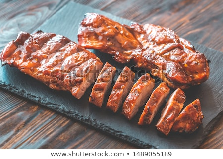 Char siu pork - Chinese bbq pork Stock photo © Alex9500