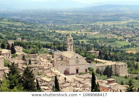 Basilica di Santa Chiara, Assisi Stock photo © borisb17