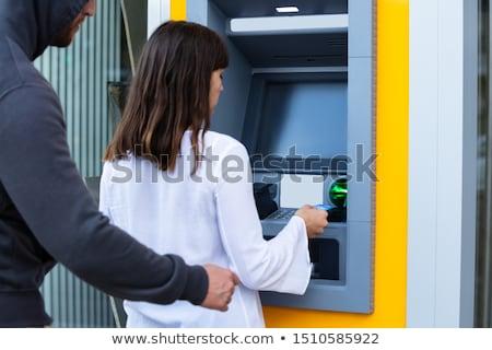 nowoczesne · atm · maszyny · odizolowany · biały · 3d - zdjęcia stock © andreypopov