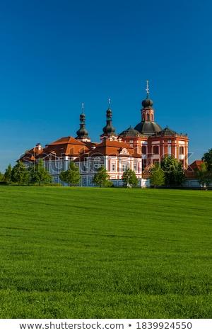 República Checa peregrinação destino nuvem torre museu Foto stock © borisb17