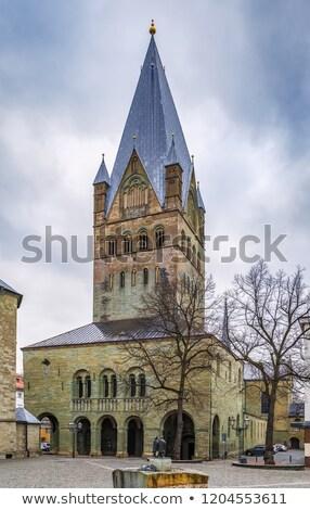 собора Германия стиль базилика ратуша небе Сток-фото © borisb17