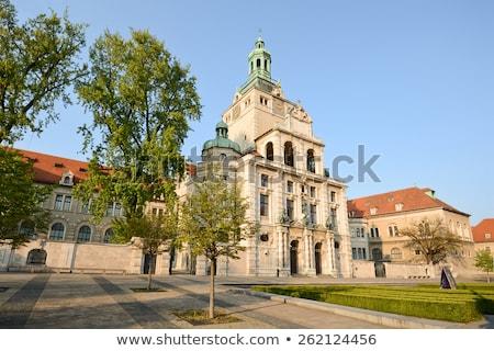 Museo Munich Alemania edificio ciudad Europa Foto stock © borisb17