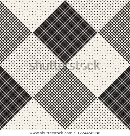 Endless Abstract Background With Random Size Squares. Vector Seamless Pattern. Stock photo © samolevsky