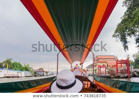 Leven rivier Bangkok Thailand zomer dag Stockfoto © bloodua