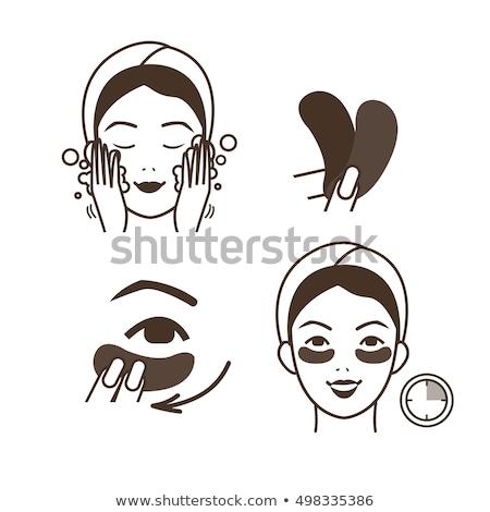Lifting eye mask Stock photo © jsnover