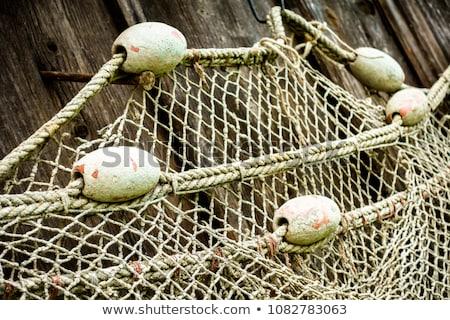 コルク 漁網 ロープ 木製 ストックフォト © premiere