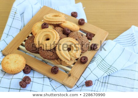 Gingerbreads put by heap Stock photo © RuslanOmega