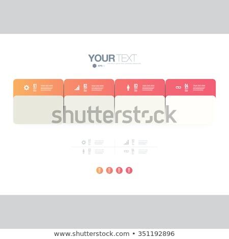 Coloré choix boutons trois différent Photo stock © liliwhite