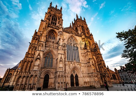 cathédrale · église · Angleterre · gothique · religieux · bâtiment - photo stock © capturelight