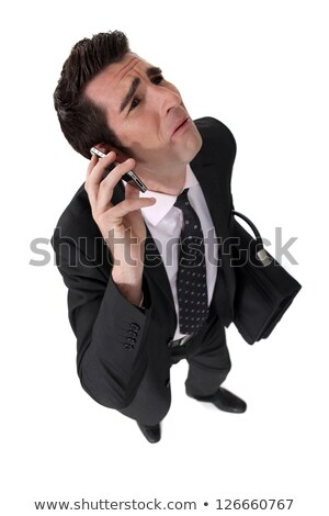Businessman being nagged by his wife Stock photo © photography33