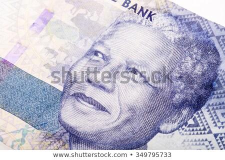 új bank jegyzetek Dél-Afrika hát nyomtatott Stock fotó © Vividrange
