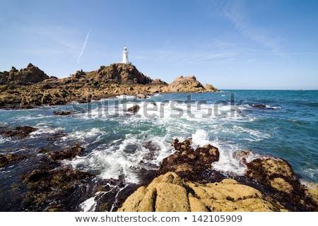 灯台 チャンネル 島々 海岸 風景 夏 ストックフォト © tilo