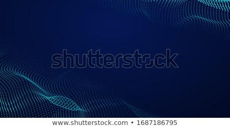 színes · digitális · hullám · dinamikus · sötét · háttér - stock fotó © bharat