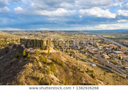 Stock photo: Castle rock