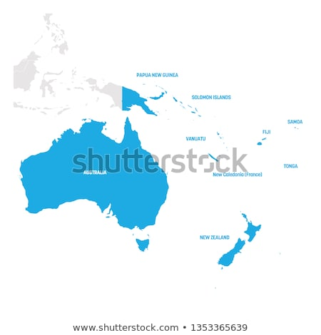 Pacific map with Vanuatu Stock photo © Ustofre9