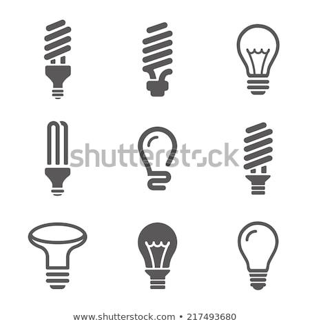 collectie · verschillend · witte · paneel · licht - stockfoto © tiero