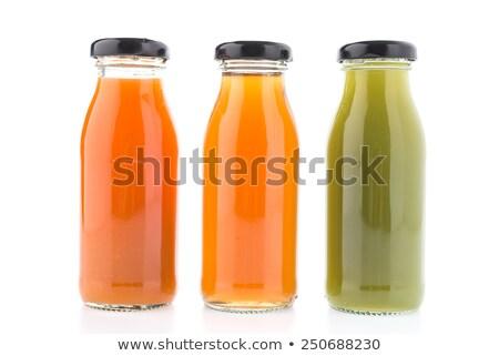 aardbei · label · drinken · dranken · voedsel · hout - stockfoto © elinamanninen