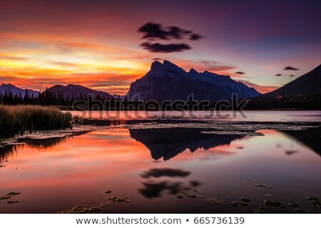 Glorious Mount Rundle Stock photo © ca2hill