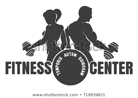 Logo for fitness club Stock photo © anastasiya_popov