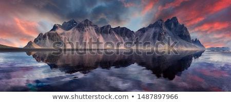 Côte mer montagne été océan table Photo stock © 1Tomm