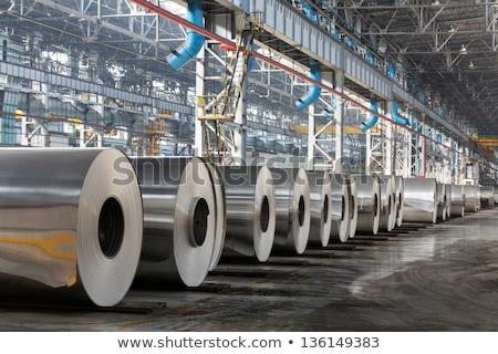 Heavy Industry on the Metal Gears. Stock photo © tashatuvango