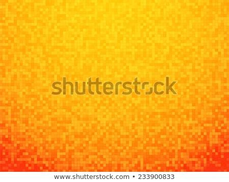illustration of orange pixels background Stock photo © nickylarson974
