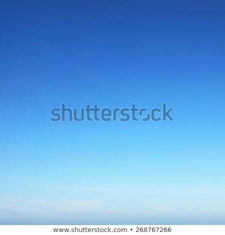 Profundo blue sky branco nuvens naturalismo beleza Foto stock © maxpro