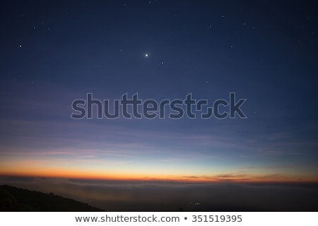 Twilight sky in deep blue and pink Stock photo © Smileus