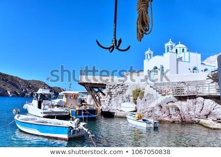 мнение деревне острове Греция традиционный греческий Сток-фото © ankarb