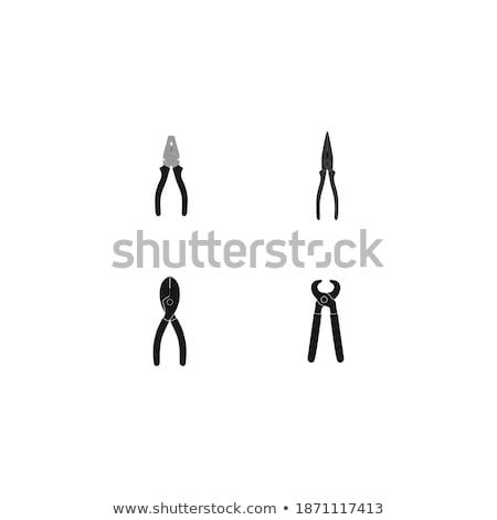 отвертка · эскиз · икона · вектора · изолированный · рисованной - Сток-фото © netkov1