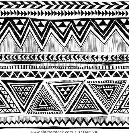 doodle pattern mexico stock photo © netkov1
