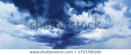 Panorámakép felhőkép nyár panoráma felhők természet Stock fotó © Suljo
