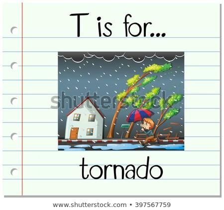 Kasırga örnek kâğıt arka plan sanat Stok fotoğraf © bluering