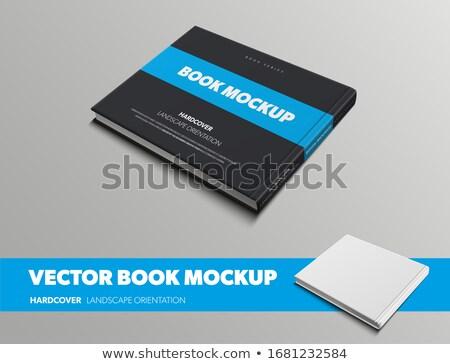 Closed black book Stock photo © romvo