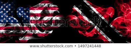 サッカー 炎 フラグ 黒 3次元の図 スポーツ ストックフォト © MikhailMishchenko
