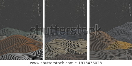 Abstract curves wave Stock photo © sommersby