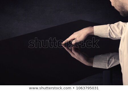 siyah · paten · yeni · modern · spor - stok fotoğraf © ra2studio