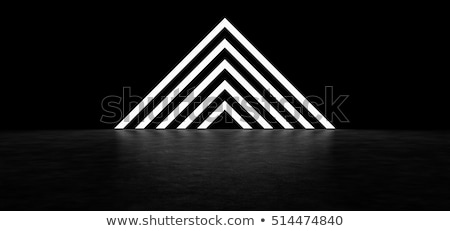 Abstract striped background. Black and white Stock photo © ESSL