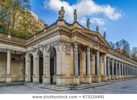 Mill Colonnade in Karlovy Vary Stock photo © benkrut