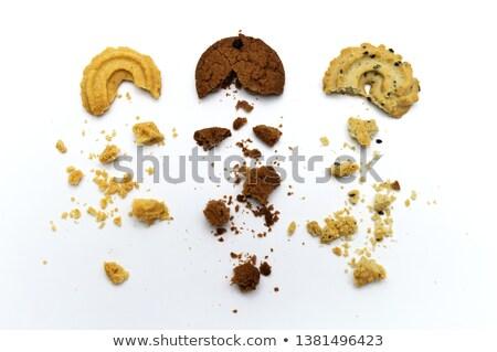 Chocolade cookies sesam eigengemaakt gebak Stockfoto © dariazu