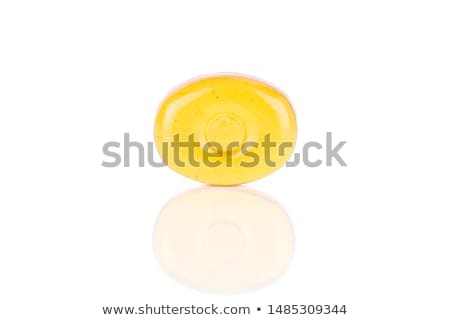 One piece of candy on white background Stock photo © bluering