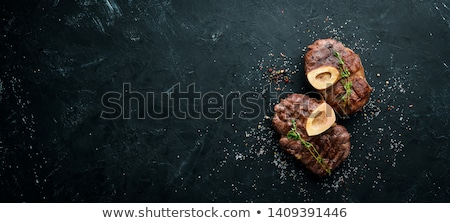 Ossobuco - cooked veal shanks  Stock photo © Alex9500
