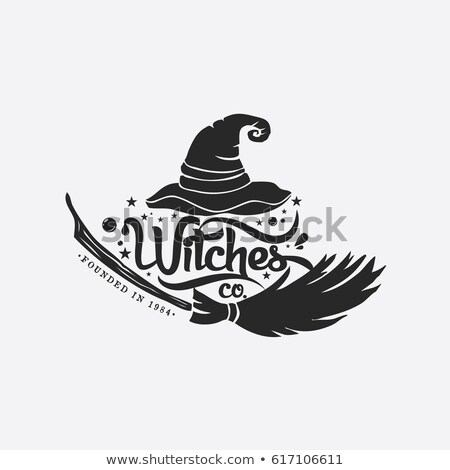 Wicked witches logo on white background Stock photo © bluering