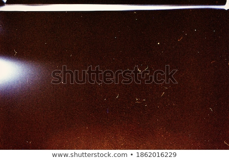 Luidruchtig Blauw film frame stof graan Stockfoto © Taigi