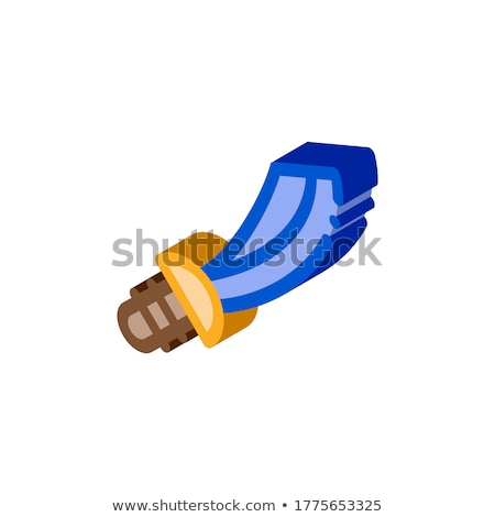 Pirate Saber isometric icon vector illustration Stock photo © pikepicture