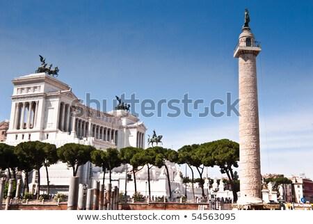 Trajan's Column, Piazza Venezia in Rome, Italy   Stock photo © vladacanon